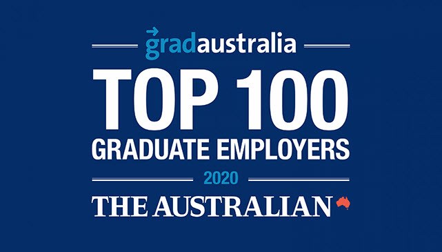 Gradaustalia top 100 graduate employers 2020