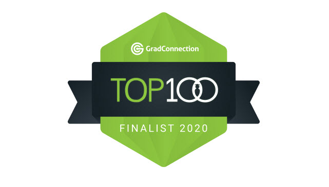 Gradconnection top 100 finalist 2020